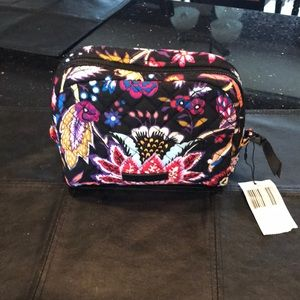 Vera Bradley cosmetic bag.